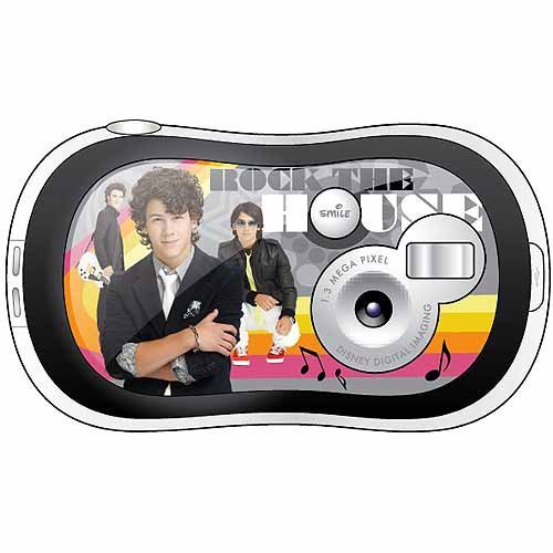 "Disney Pix Click - Jonas Brothers 1.3MP Digital Camera with 1.4"" LCD - 1"