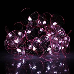 Amazon.com: InnooTech White Solar Powered Outdoor String Lights ...