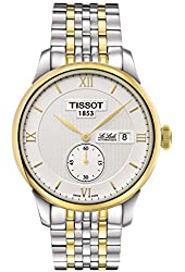 Tissot Le Locle White Dial Two-Tone Stainless Steel Men's Watch T0064282203801