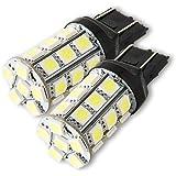 T20 LED 27連ダブル 3CHIP SMD(ホワイト) 2個1セット 合計81CHIP