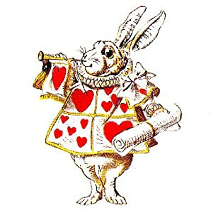 Amazon.com - ALICE IN WONDERLAND CLOCK-RABBIT-GREAT FOR