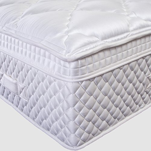 Spirit Premium Matelas confort luxe, Hyper Soft, Multi Zone Ressorts Ensachés, mousse...