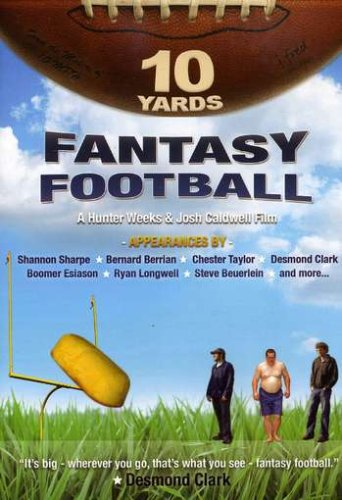 Cover art for  10 Yards: Fantasy Football
