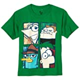 Phineas and Ferb Character Squares Faces