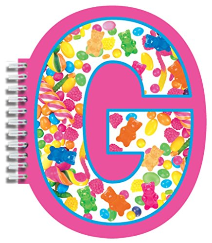 iscream Letter G Shaped Initial Notebook