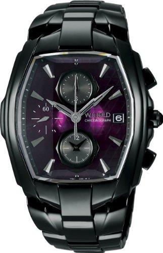 [ワイアード]WIRED 腕時計 DELTA デルタ パープル AGAV056 メンズ