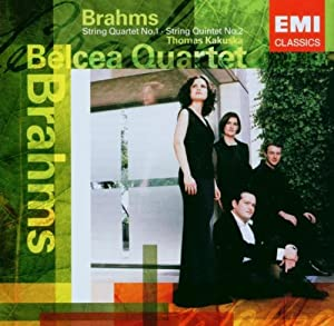 String Quartet No 1, String Quintet In G (Belcea Quartet)