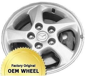 MAZDA MPV 15X6 5 SPOKE Factory Oem Wheel Rim- SILVER – Remanufactured