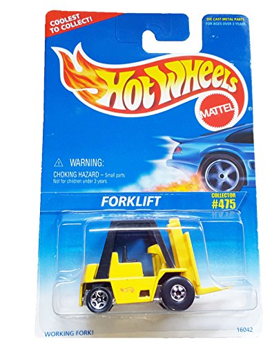 Hot Wheels Forklift Collector #475