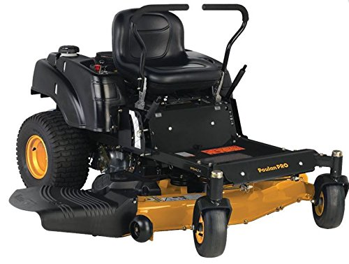 Poulan Pro 967331001 P54ZX Briggs V-Twin Pro 24 HP Cutting Deck Zero Turn Radius Riding Mower, 54-Inch