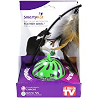 Smarty Kat Feather Whirl Pet Toy