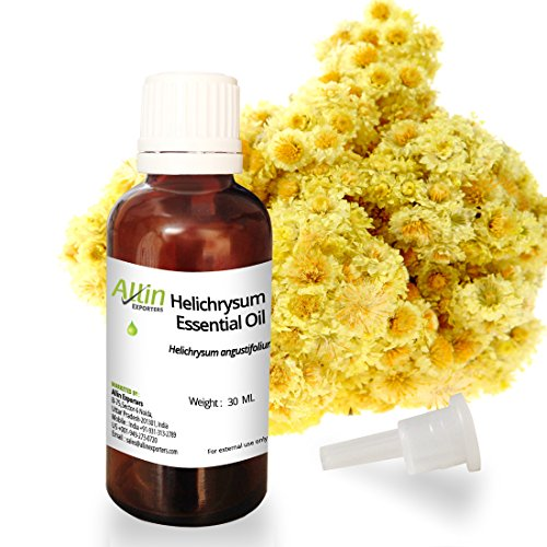 Allin Exporters Helichrysum Essential Oil - 100% Pure , Natural & Undiluted - 30 ML