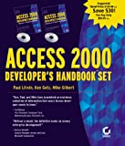 Access 2000 Developers Handbook 2 Volume Set