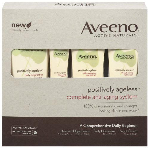 Aveeno Active Naturals Positively Ageless Complete Starter Regimen
