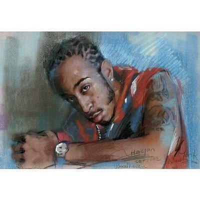 Ludacris Word of Mouf poster hip hop rap area codes - 13x19