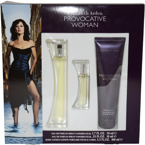 Elizabeth Arden Provocative Eau De Parfum Gift Set for Women 50ml