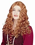 Franco American Novelty Renaissance Maiden Costume Wig in Apricot