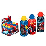 Borraccia 500ml in metallo per acqua Ultimate Spiderman Originale