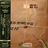 As Safe As Yesterday Is +2 Ltd.Papersleeve ( Japan Imp.)