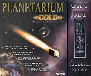 Planetarium Gold Gift Set by Fogware Publishing