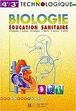 echange, troc Buisson, Martin - Biologie, éducation sanitaire, 4e-3e. Livre de l'élève