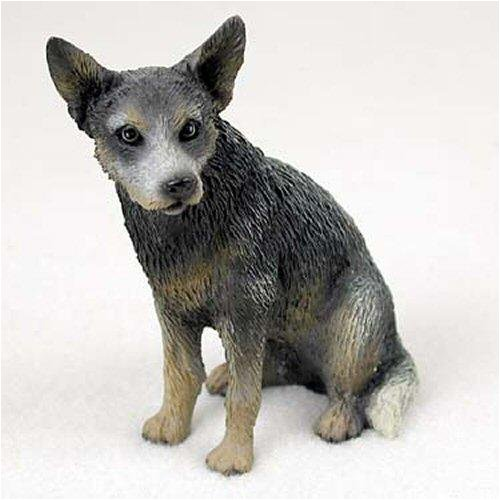 Australian Cattle Dog, Blue Original Dog Figurine (4in-5in)