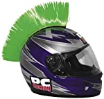 PC Racing Helmet Mohawk, Green by PC Racing