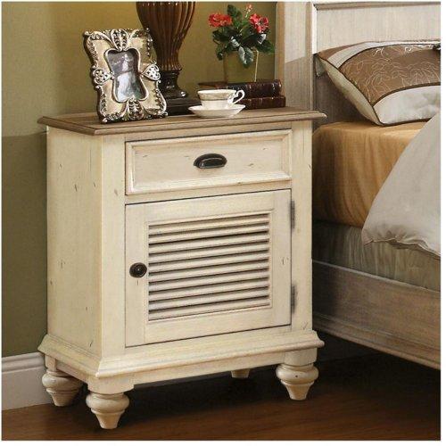 Ash Bedside Table 5993 front