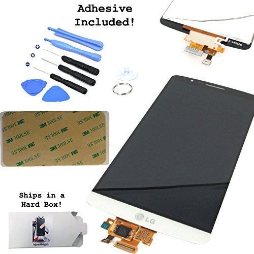 White Lcd Display Touch Screen Glass Panel Digitizer Assembly Repair Part For Lg G3 D850 D851 D855 Vs985 Ls990
