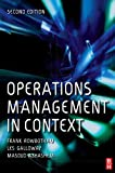 img - for Operations Management in Context book / textbook / text book