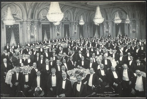 Photo Annual banquet, National Boot and Shoe Manufacturers' Ass'n., Hotel Astor, New York City, Feb. 23, 1906 1906