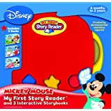 My First Story Reader and 3 Interactive Mickey Mouse Storybooks