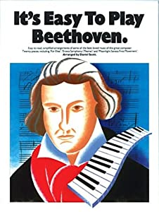Its Easy To Play Beethoven from Music Sales Ltd