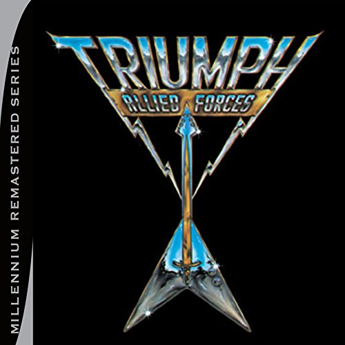 CD : Triumph - Allied Forces (Remastered)