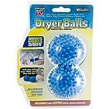 Magic Drying Fluff Balls - Set of 2 Natural Fabric Softening Dryer Balls