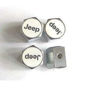 Jeep Anti-theft Car Wheel Tire Valve Stem Caps