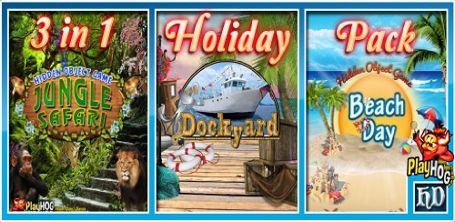 Holiday Pack - 3 In 1 - Hidden Object Game [Download] front-969754