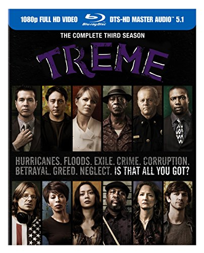 Blu-ray : Treme: The Complete Third Season (Full Frame, Boxed Set, , Digital Theater System, AC-3)