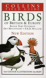 Collins Field Guide - Birds of Britain and Europe