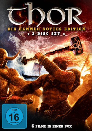 Thor - Die Hammer Gottes Edition (6 Filme Edition) [2 Disc Set]