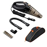 Car Vacuum Cleaner,Wet and Dry Portable Handheld Automotive Vacuum Cleaner Great Suction 12V 106W,14.8 FT Power Cord with Carry Bag