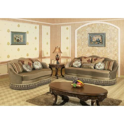 north shore dark brown living room set