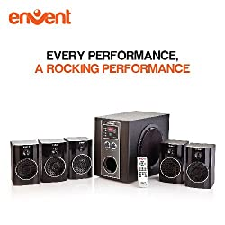 Envent Deejay Rock+ BT-5.1 Bluetooth Home Audio Speaker