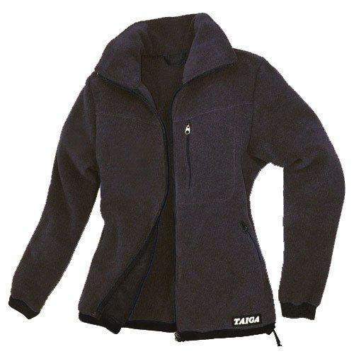 TAIGA Fleece Jacket-300 - Women's Polartec®-300 Fleece Jacket, Black, MADE IN CANADA
