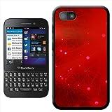 Sparkling Red Hard Case Clip On Back Cover For Blackberry Q5