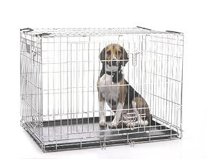 Savic Dog Residence 91 Cm Dog Crate Zinc Plated 91 X 61 X 71 Cm