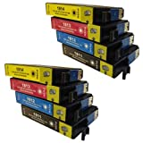 8 CiberDirect Compatible Ink Cartridges for use with Epson Expression Home XP-305 Printers.