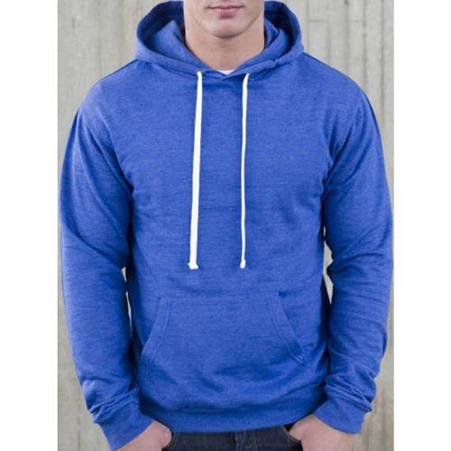 Awdis Men's Heather Hooded Sweatshirt Mens