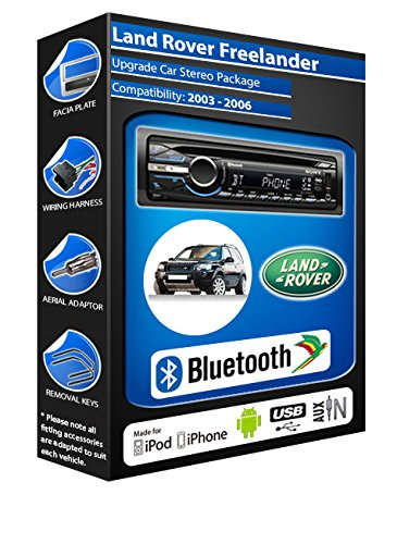 Land Rover Freelander lecteur USB de CD et autoradio Sony radio Bluetooth mains libres