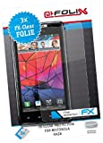 AtFoliX FX-Clear Protective Display Films Set of 3 for Motorola RAZR